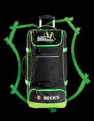 Borsone Trolley Beck's Becks Valigia CHEERS TO INDEPENDENCE Concorso - Nuovo