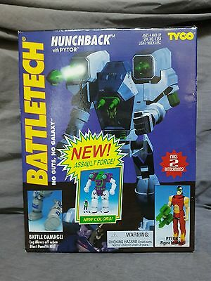 HUNCHBACK with PYTOR BATTLETECH VINTAGE 1994 TYCO #1354-2 NEW OLD STOCK SEALED