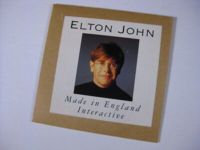 1995 Elton John promo PC diskette Made In England Interactive still sealed