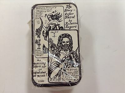 Rare Vintage Tarot Cards The Storyteller  By Rosanna Rogers  New Seal 1984