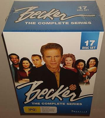 Becker The Complete Series Boxset Seasons 1 2 3 4 5 & 6 Brand New Sealed R4 Dvd