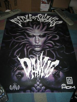 DANZIG-(circle of snakes)-1 POSTER-18X24-NMINT-RARE