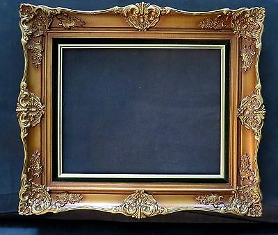 """Vintage Fabulous Ornate FRENCH ROCOCO STYLE GILDED PICTURE FRAME 16"""" x 20"""""""