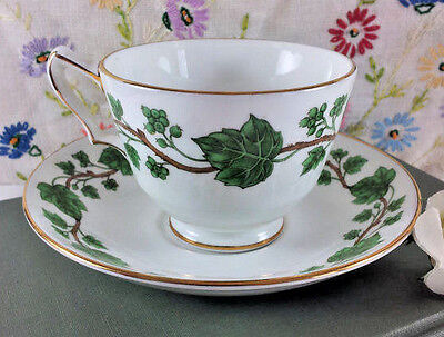 Crown Staffordshire Ivy Cup and Saucer