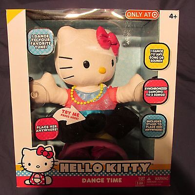 New Hello Kitty Dance Time Large Dancing Doll Figure with Stand Musical Girl 4+
