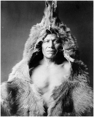 Native American Indian Bear's Belly 8X10 Photo Picture Print 1088