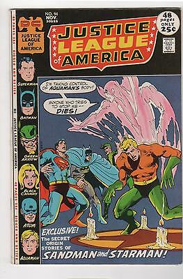 JUSTICE LEAGUE OF AMERICA no. 94 1st appearance Merlyn Fine/Very fine 7.0