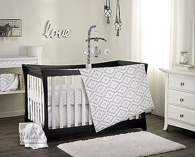 2 pc Kidsline Baby Boys Girls Cot Quilt & Fitted Sheet Nursery Bedding