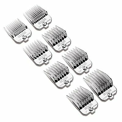 463F37 Andis Chrome Coated Magnetic Comb Guides