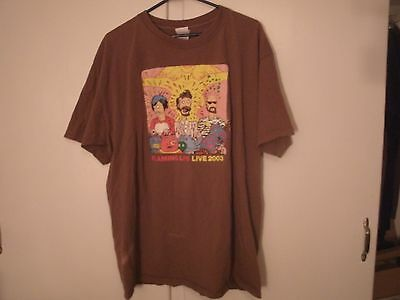 The Flaming Lips - Live 2003 Tour Tee EGO TRIPPING SPRING - Xtra- Large T- Shirt