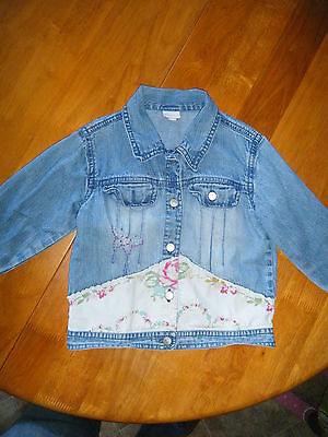 Monsoon - Girl Denim Jacket - Age 2 -3