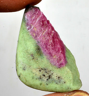 49.52 Ct. Certified Natural Ruby Zoisite  Rough Shaped Gemstone G.No-287
