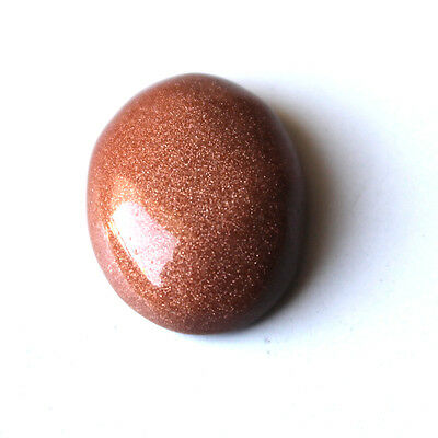 Natural Sunstone Synthetic Red Gemstone,Oval Shaped Cabochon Gemstone 00SSP#f