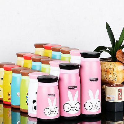 260/350/500ml Stainless Steel Thermos Bottle Flask Vacuum Cup Insulated Drinks