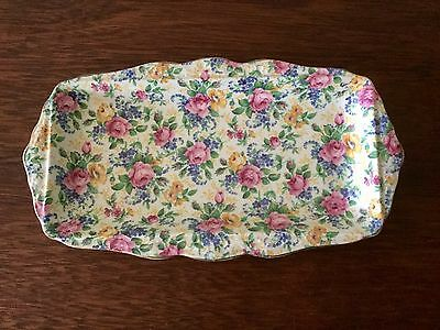 Collectable James Kent Ltd. Longton - Sandwich Tray No. 115 - Made In England