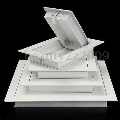 Aluminium Alloy Wall Air Vent Square Wall Ceiling Extractor Outlet Gravity Flaps