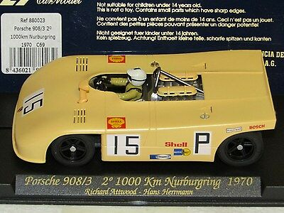 FLY C69. PORSCHE 908/3.1000km Nurburgring 1970. Used/Tested. Mint condition.