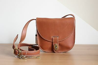 Authentic Fossil Austin Small Saddle Messenger Bag Bnwt