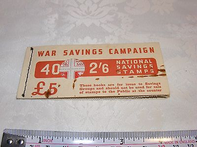 WWII War Savings Campaign Stamps 40 x 2'6 - Museum Condition