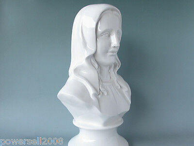 Catholic Church Christian Blessed Virgin Mary Statue White Decoration Gift