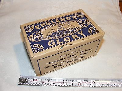 WWII England's Glory Matches 12 x Boxs - Museum Condition