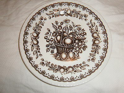 Vintage Wood & Sons Windsor England Butter Or Side Plate- 17.5 Cms Across