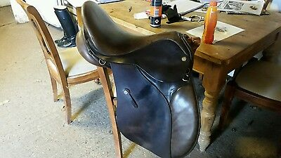 GP Saddle 17.5 m/w havana