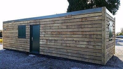 32ft x 10ft Shipping Container Office