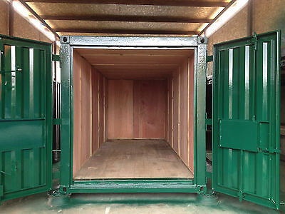 20ft x 8ft Shipping Container Ply Lined