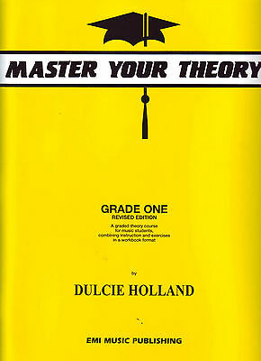 Master Your theory - Grade 1 / One - Dulcie Holland - ****New Revised E18227