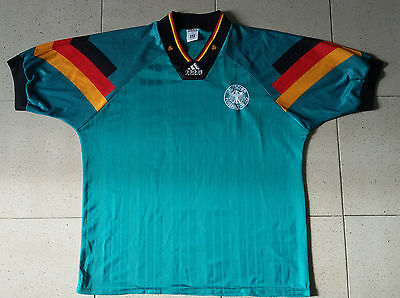 Maglia Deutschland Germany 1992-94 camiseta shirt adidas fussball trikot tg XL