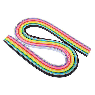 Hot 160 Stripes Quilling Paper 3mm Width Assorted Color Origami Paper Craft DIY