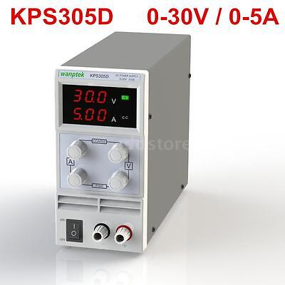 Adjustable DC 0-30V 0-5A Digital Regulated Power Supply Precision Variable W1M0