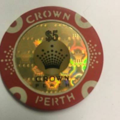 $5 Crown Perth casino chips