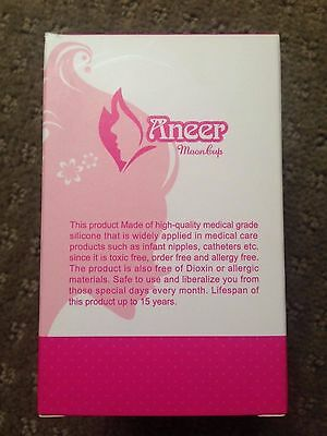 Aneer Moon Cup Menstrual Cup - Sz Small