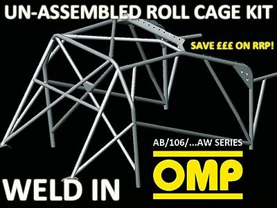 Ab/106/235Aw Omp Weld In Roll Cage Kit Mitsubishi Lancer Evo 7 / 8 / Mr