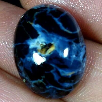 16.55Cts. 15X20MM 100% NATURAL PIETERSITE OVAL CABOCHON WHOLESALE LOT GEMSTONES