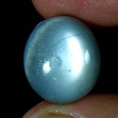 14.35Cts. 100% NATURAL CHATOYANT SILKY MOONSTONE OVAL CABOCHON QUALITY GEMSTONES