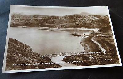GRUINARD c1930s Bay & Hairpin Bend nr Gairloch & Ullapool - Real Photo