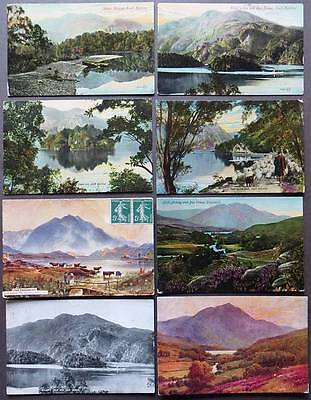 LOCH KATRINE Lot of 8 Postcards