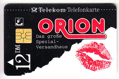 Sexy Charme Pin-Up Art  Telecarte / Phonecard .. Allemagne 12Dm X Orion Puce