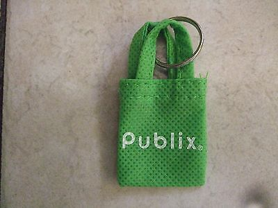 """Mini Grocery Store Shopping Bags Publix """"Don't Forget Your Bags"""" Keychain"""