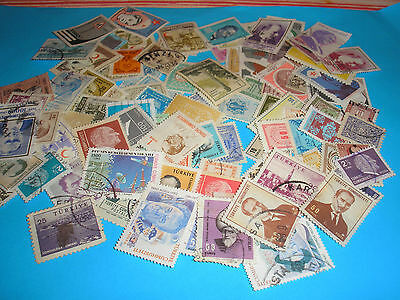 100 Timbres Turquie Obliteres N° 94