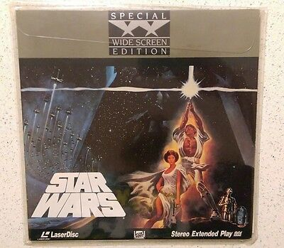Star Wars Special Wide Screen Edition Laser Disc