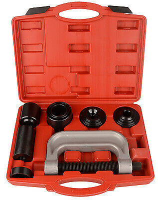 10pc Ball Joint Press Service Kit Remover Separator 4x4s Adaptor 4 in 1 Tool Set