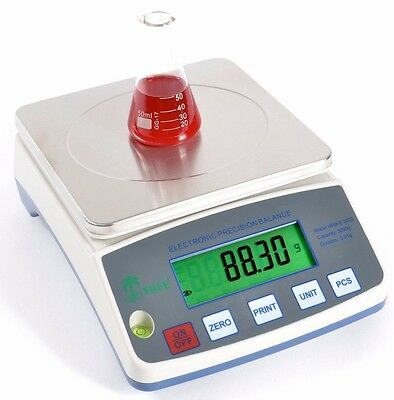 Highly Precise Laboratory Balance 600g x 0.01g Tree HRB602 Digital Scale