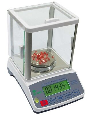 Highly Precise Laboratory Balance 100g x 0.001g Tree HRB103 1mg Scale Gram