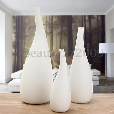 Luxury Ceramic Art Vases White Porcelain Modern Style Wedding Home Decoration