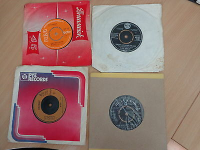 collection of 4 Elvis records