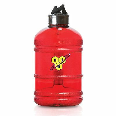 BSN Large 1.9 Litre BPA-Free Sport Gym Half Gallon Training Workout Water Bottle